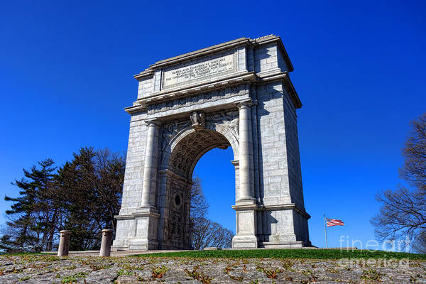 Continental Army Photograph - Valley Forge Glory by Olivier Le Queinec