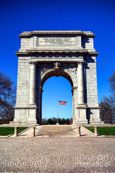 Continental Army Photograph - Valley Forge Landmark by Olivier Le Queinec