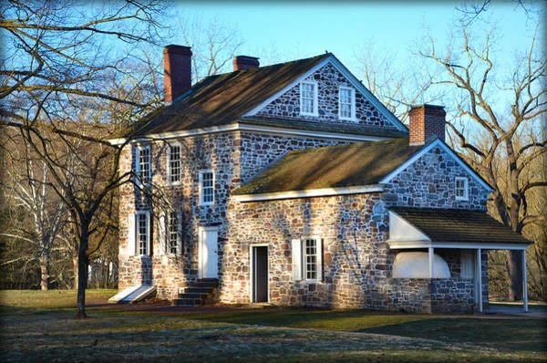 Wall Art - Photograph - Valley Forge - Washington's Headquarters by Bill Cannon