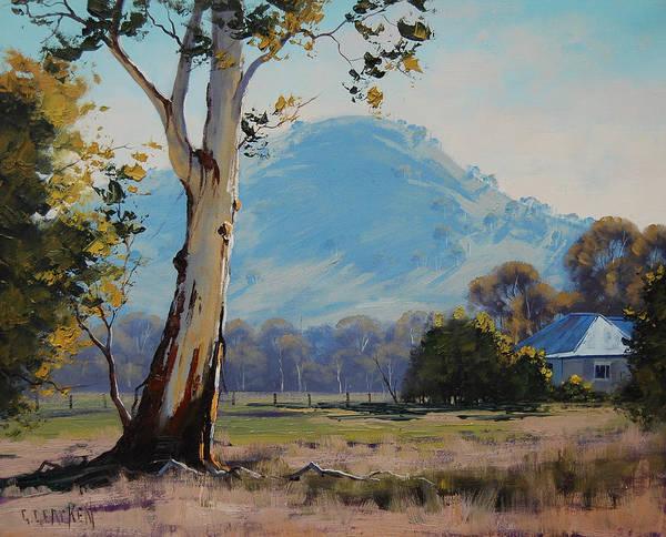 Australia Painting - Valley Gum Tree by Graham Gercken