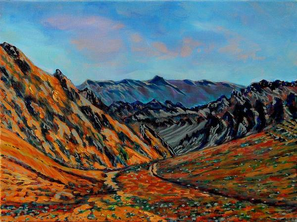 Valley Of Fire Painting - Valley Of Fire 2 by Faye Dietrich