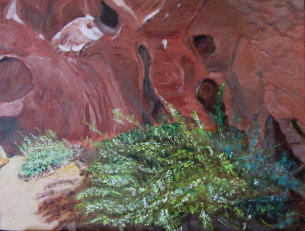 Painting - Valley Of Fire State Park by Linda Feinberg