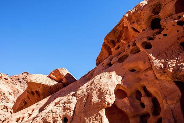 Eroded Wall Art - Photograph - Valley Of Fire State Park by Photostock-israel/science Photo Library