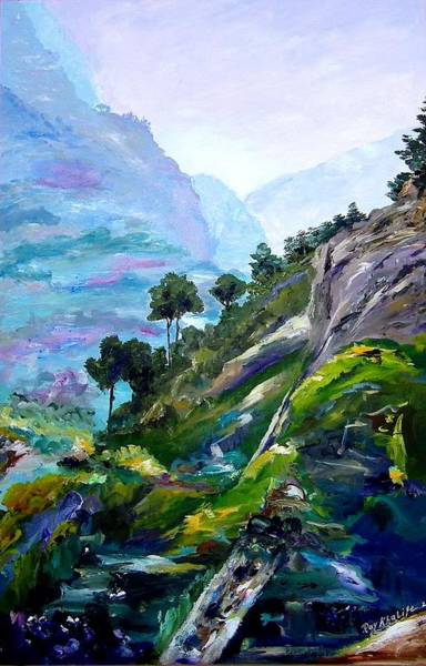 Painting - Valley Of Saints by Ray Khalife