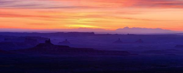 Wall Art - Photograph - Valley Of The Gods Sunrise Utah Four Corners Monument Valley by Silvio Ligutti