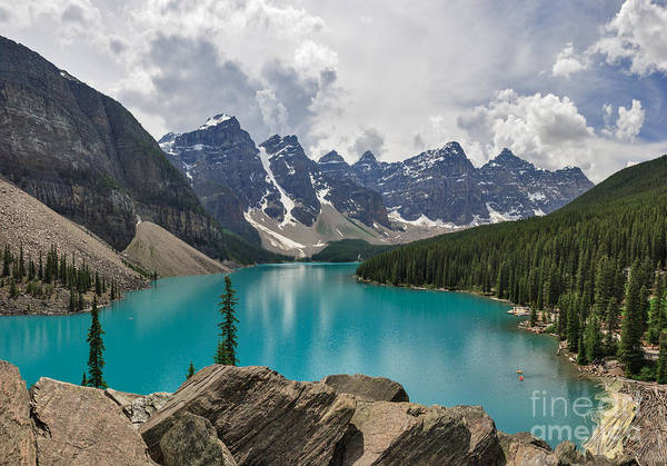 Photograph - Valley Of The Ten Peaks by Charles Kozierok