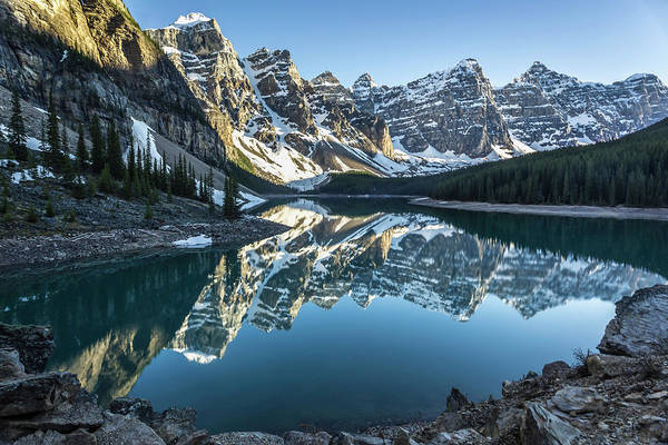 Wall Art - Photograph - Valley Of The Ten Peaks by Gemma