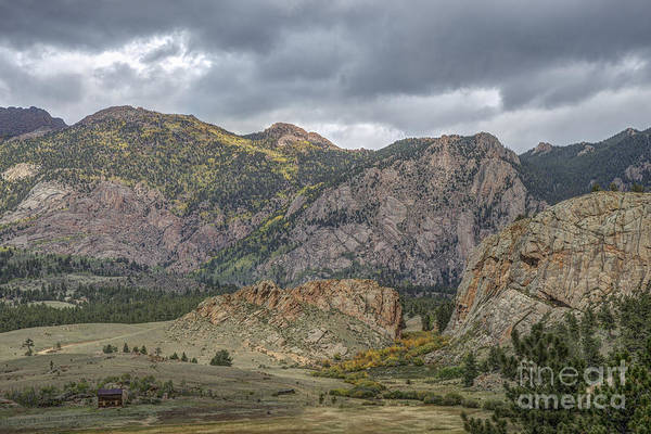 Photograph - Valley On Co 77 by David Waldrop