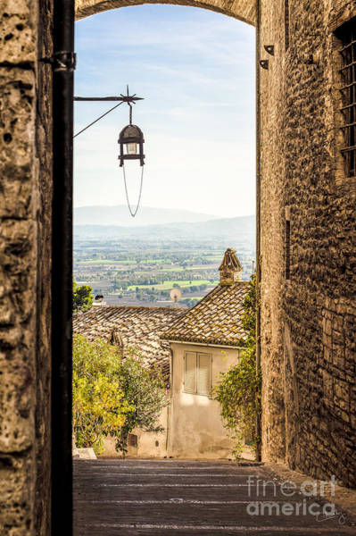 Valley Outside Assisi Art Print