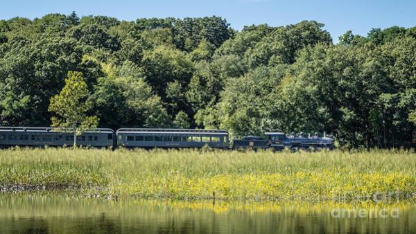 Photograph - Valley Railroad Pratt Cove by Edward Fielding
