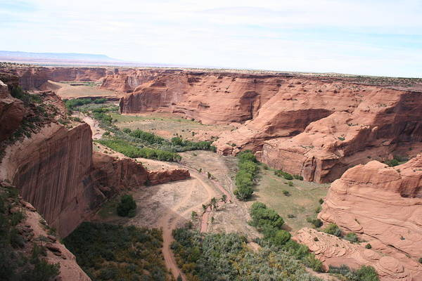 Spider Rock Photograph - Canyon De Chelly Valley View   by Christiane Schulze Art And Photography
