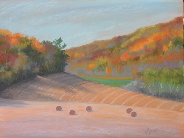 Pastel - Valley View by Sherri Anderson