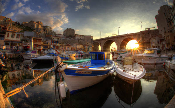 Photograph - Vallon Des Auffes by Karim SAARI