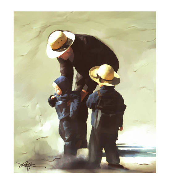Wall Art - Painting - Value Your Children by Bob Salo