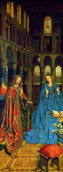 Painting - Van Eyck Annunciation by Granger