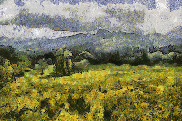 Painting - Van Gogh's France by Georgia Fowler