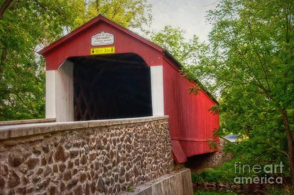 Photograph - Van Sandt Bridge by Debra Fedchin
