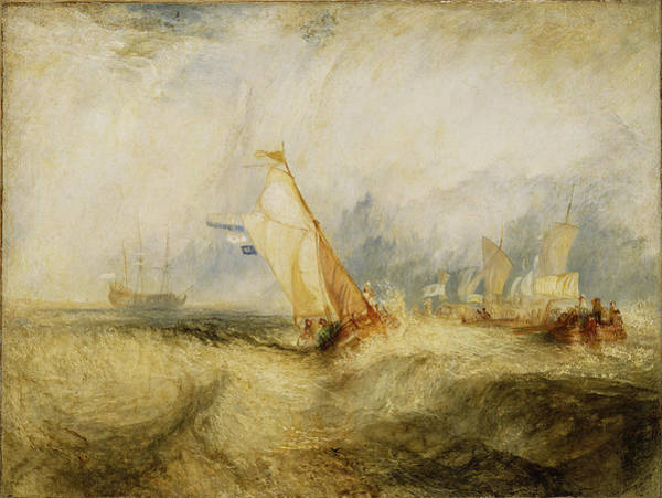 Wall Art - Photograph - Van Tromp Going About To Please His Masters - Ships A Sea Getting A Good Wetting, 1844 Oil On Canvas by Joseph Mallord William Turner