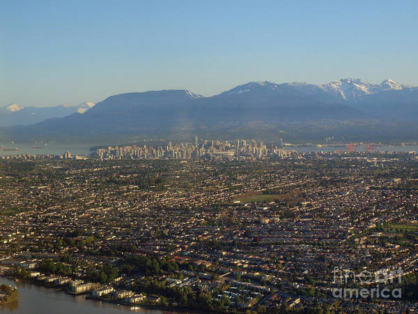 Vancouver At A Glance Art Print