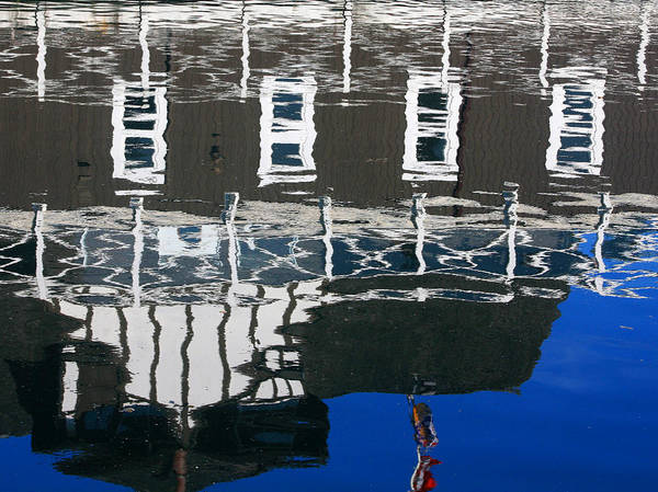 Photograph - Vancouver Boathouse Reflection by Rick Locke