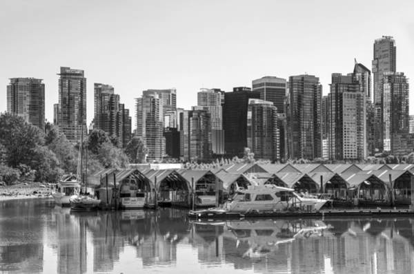 Photograph - Vancouver Boatsheds by Ross G Strachan