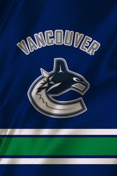 Vancouver Wall Art - Photograph - Vancouver Canucks Uniform by Joe Hamilton
