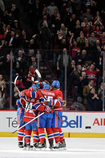 Montreal Photograph - Vancouver Canucks V Montreal Canadiens by Minas Panagiotakis