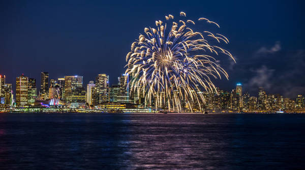 Photograph - Vancouver Fireworks by Pierre Leclerc Photography