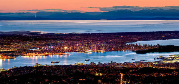 Photograph - Vancouver From Above by Alexis Birkill