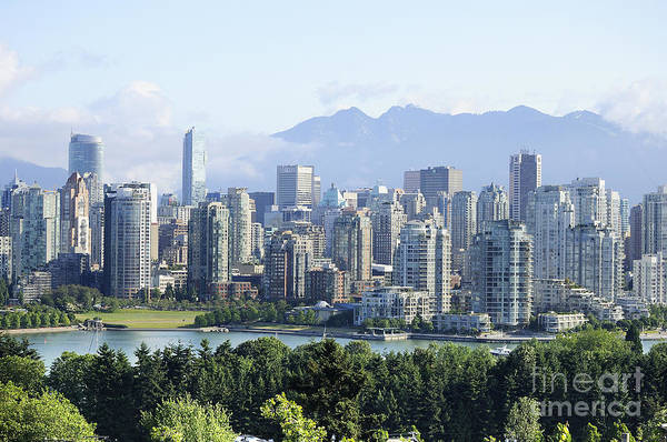 Photograph - Vancouver From The Hills by Brenda Kean