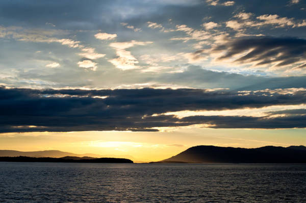 Photograph - Vancouver Island Sunset by Crystal Hoeveler