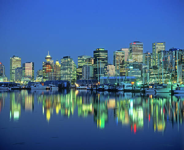 Vancouver City Photograph - Vancouver by Martin Bond/science Photo Library