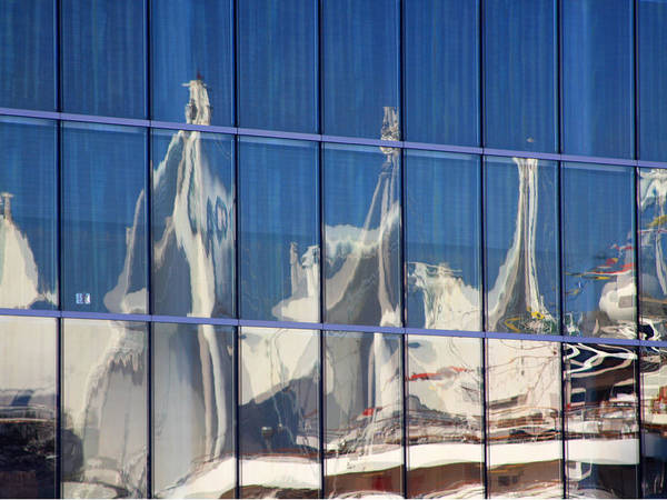 Photograph - Vancouver Place Reflection by Rick Locke