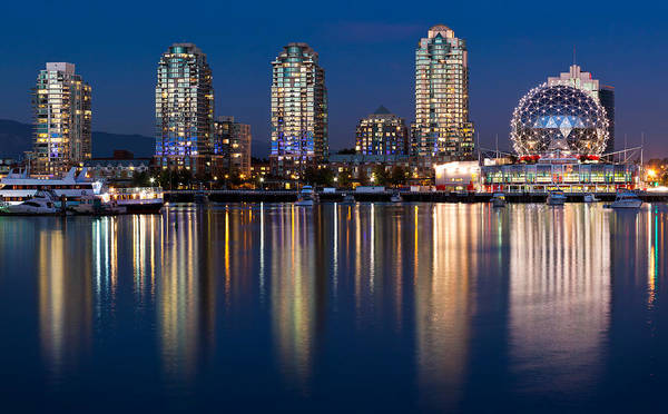 False Creek Wall Art - Photograph - Vancouver Postcard by Alexis Birkill