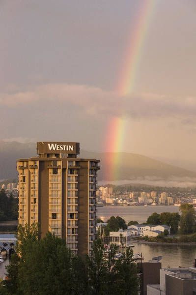 Photograph - Vancouver Rainbow by Ross G Strachan