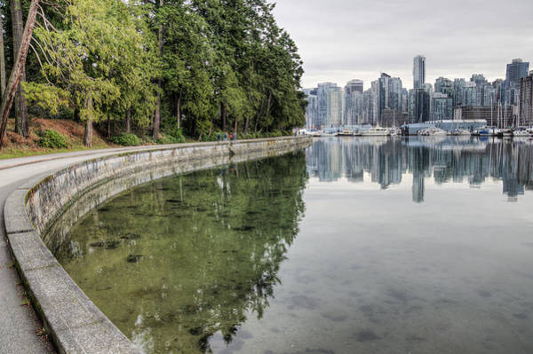 Photograph - Vancouver Reflections by Ross G Strachan