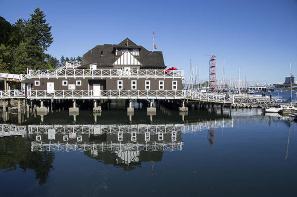 Photograph - Vancouver Rowing Club by Ross G Strachan