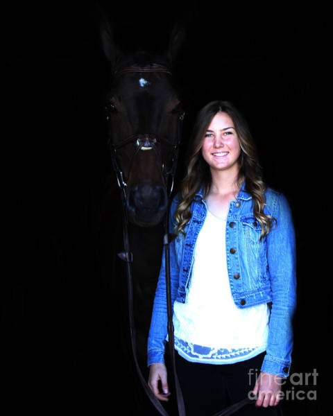 Photograph - Vanessa Fritz 1 by Life With Horses
