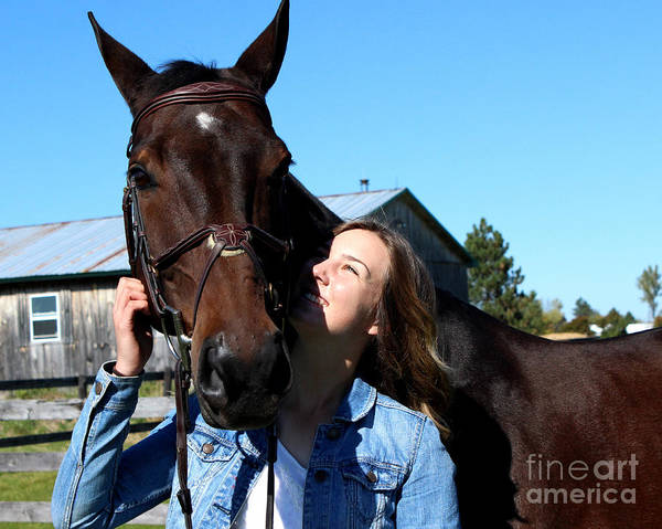 Photograph - Vanessa Fritz 10 by Life With Horses