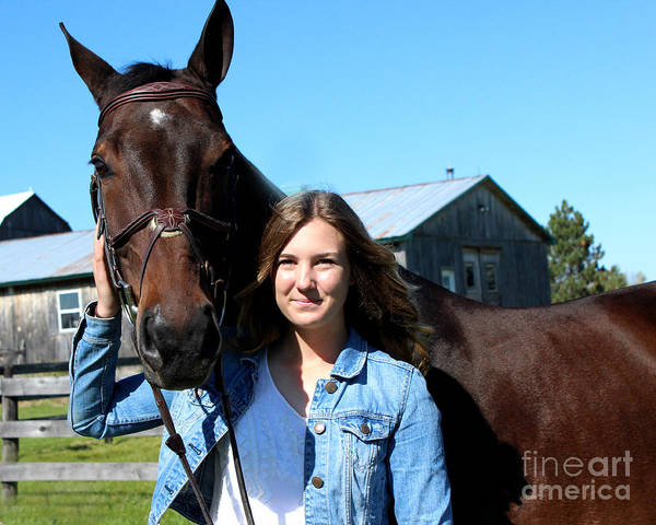 Photograph - Vanessa Fritz 11 by Life With Horses