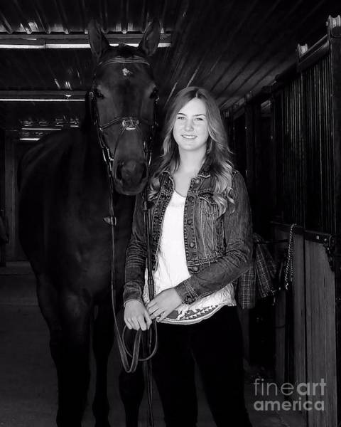 Photograph - Vanessa Fritz 2 by Life With Horses