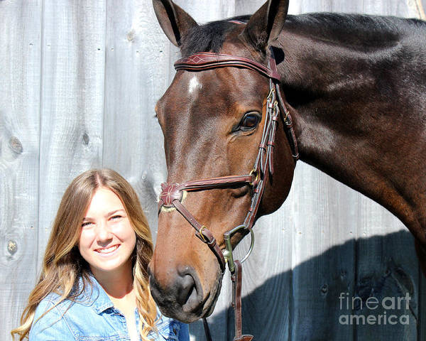 Photograph - Vanessa Fritz 21 by Life With Horses