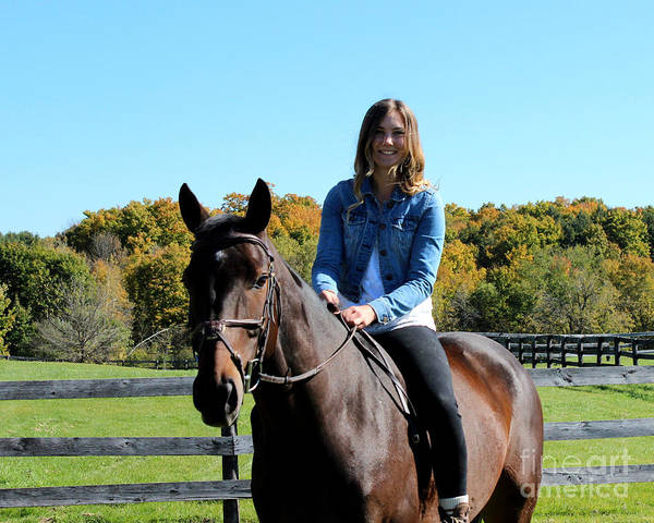 Photograph - Vanessa Fritz 24 by Life With Horses