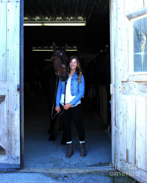 Photograph - Vanessa Fritz 3 by Life With Horses