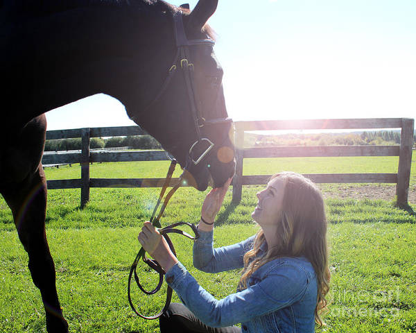 Photograph - Vanessa Fritz 46 by Life With Horses