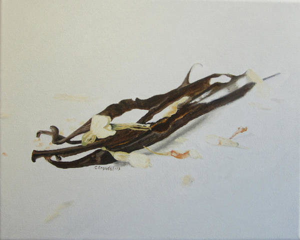 Wall Art - Painting - Vanilla Beans by Cecilia Brendel