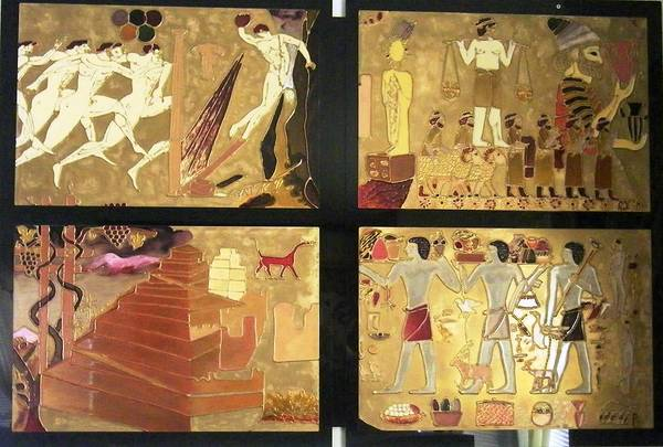 Vanished Civilization Art Print
