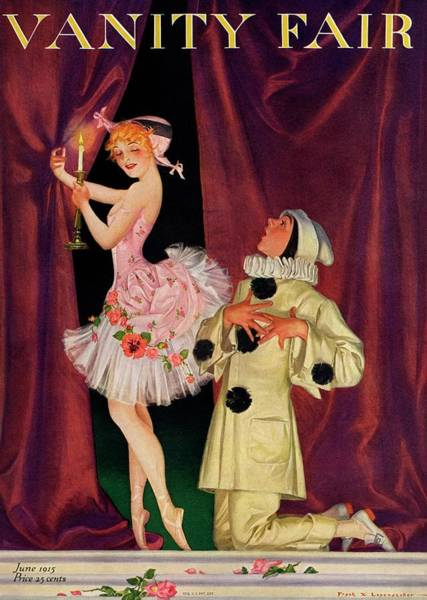 Singer Photograph - Vanity Fair Cover Featuring A Ballerina by Frank X. Leyendecker