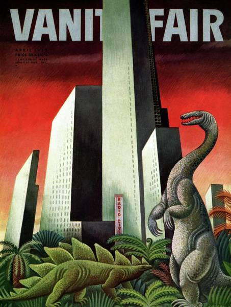 Wall Art - Photograph - Vanity Fair Cover Featuring A City With A Jungle by Miguel Covarrubias