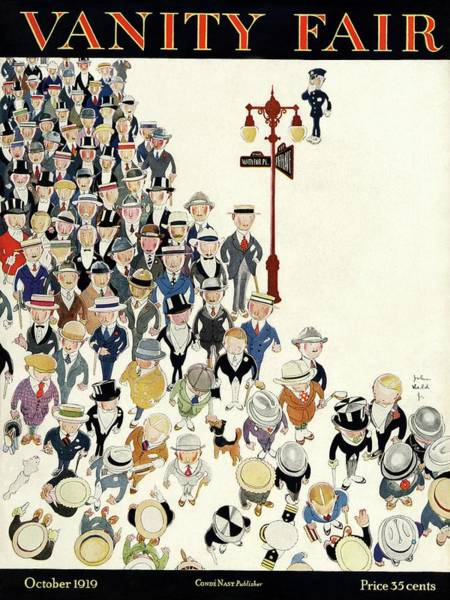 20th Century Photograph - Vanity Fair Cover Featuring A Crowd by John Held Jr